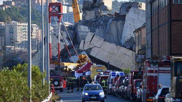 Fiscal de Génova entre 10 y 20 desaparecidos tras derrumbe del puente
