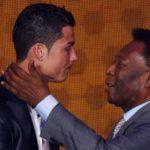 Pelé desea suerte a Cristiano Ronaldo en su debut con el Juventus