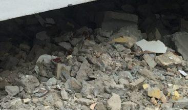 Dos personas heridas tras derrumbarse techo en SPM