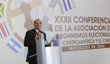JCE asume Presidencia Pro Témpore de Protocolo de Tikal