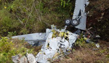 Evoluciona satisfactoriamente piloto herido en accidente aéreo