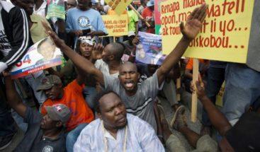 Vuelven a manifestarse en las calles de Haití en contra de la corrupción