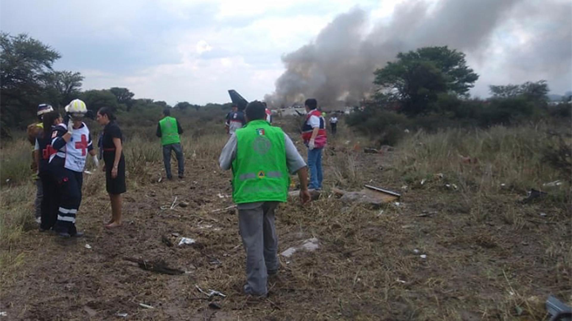Heridos del accidente avión de Aeroméxico evolucionan favorablemente