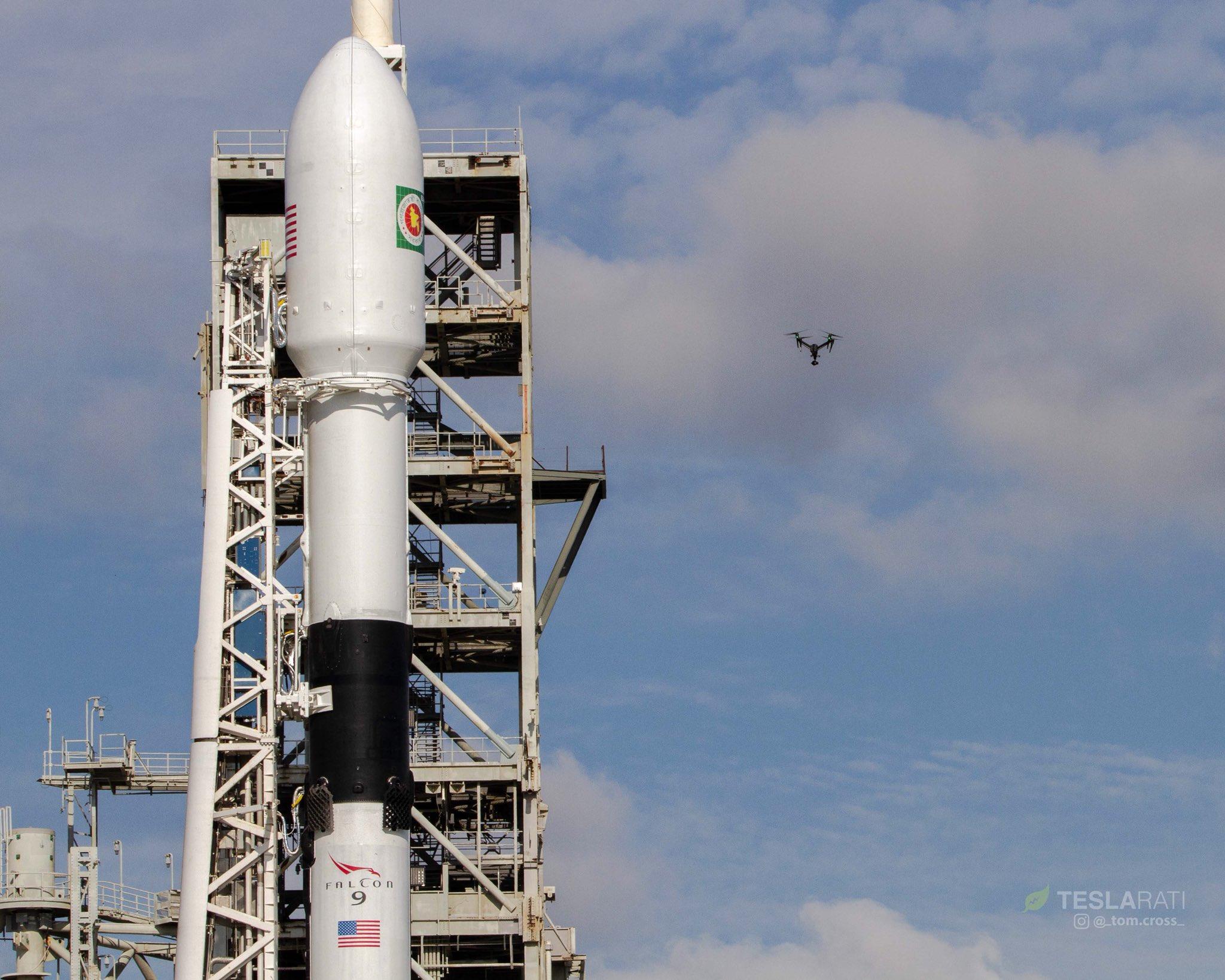 Por primera se reutiliza dos veces Falcon 9 Bloque 5 de SpaceX