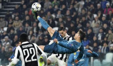 Votan gol de tijera Ronaldo contra la Juventus como mejor de temporada