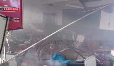 Tres muertos al explotar tanque de gas en una escuela en México
