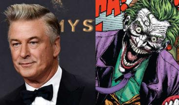 Alec Baldwin interpretará al padre de Batman en película sobre el Joker