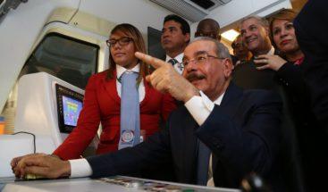 Línea 2B del Metro de Santo Domingo comienza su funcionamiento
