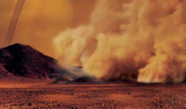 Titán tiene gigantes tormentas de polvo, según observaciones de Cassini