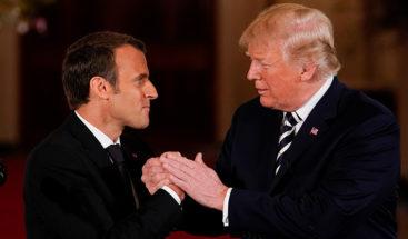 Macron dice que ya no confía en EE.UU.