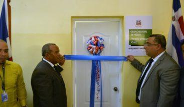 Inauguran en Higüey el sexto centro de notificación para reclusos