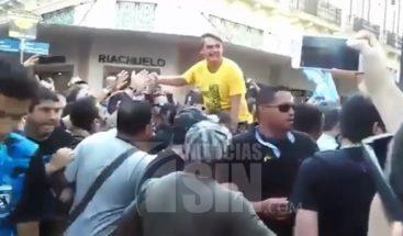 Continúa grave candidato presidencial apuñalado en Brasil