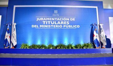 EN VIVO: Juramentan nuevos fiscales elegidos por concurso