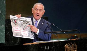 Israel dice en la ONU tiene pruebas de almacén nuclear secreto en Irán