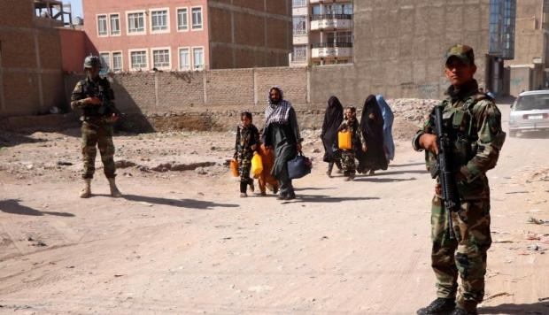 Ocho niños muertos cuando jugaban al explotar una mina en Afganistán