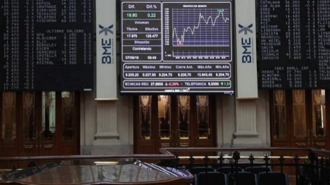 La bolsa de México gana 0,58 % al inicio de la sesión