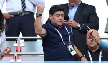 Maradona podría entrenar club en mexicano