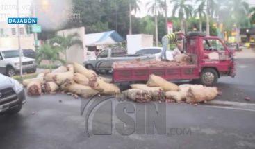 Incautan camión de yuca amarga en Dajabón