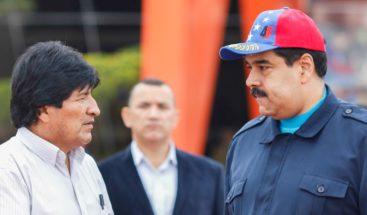 Morales critica Almagro por hablar de intervención militar contra Maduro
