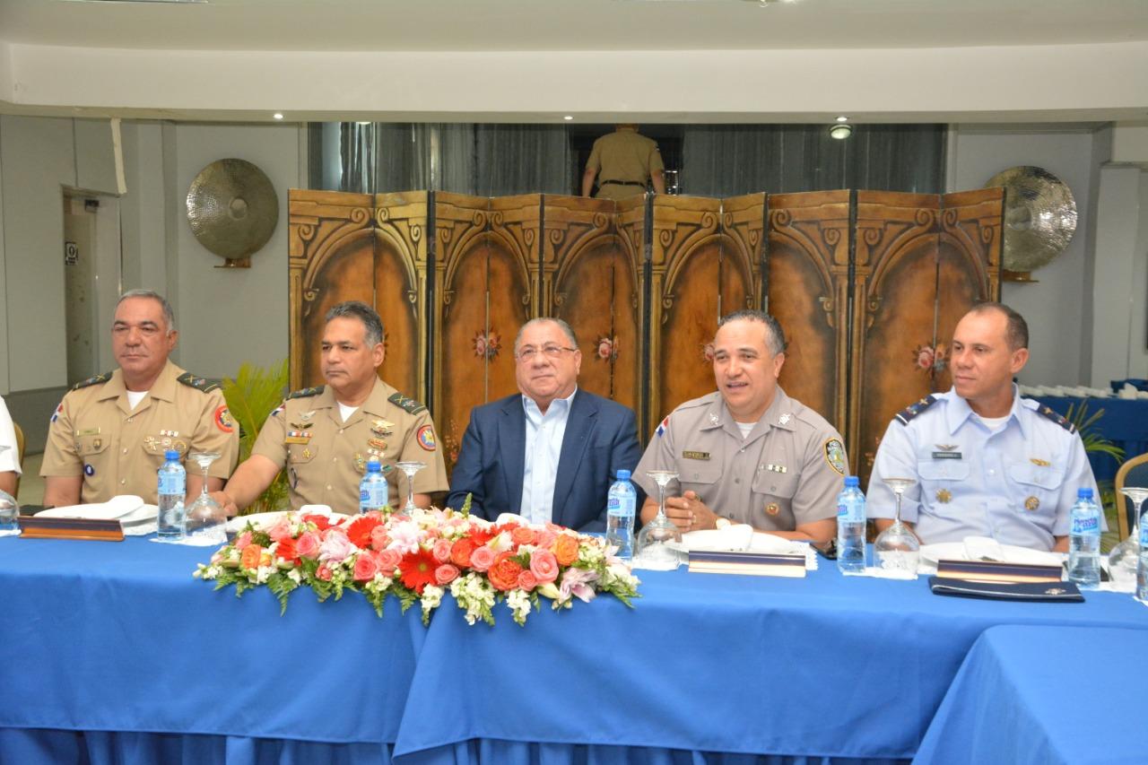 Autoridades coordinan acciones por la seguridad ciudadana