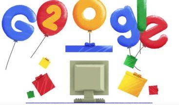 Google cumple dos décadas y otros clics tecnológicos de la semana