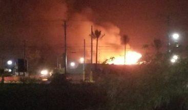 Incendio afectó áreas del hotel Meliá de Bávaro