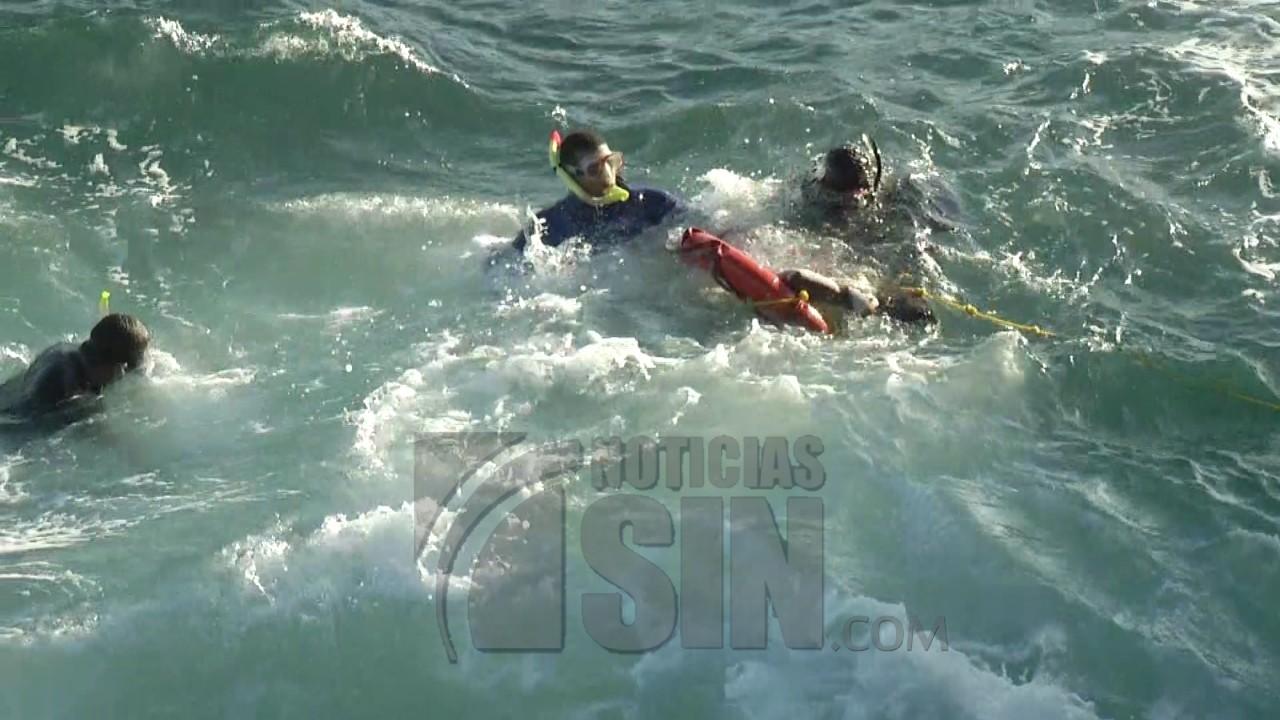 Hallan cadáver de una persona que se ahogó en el Mar Caribe