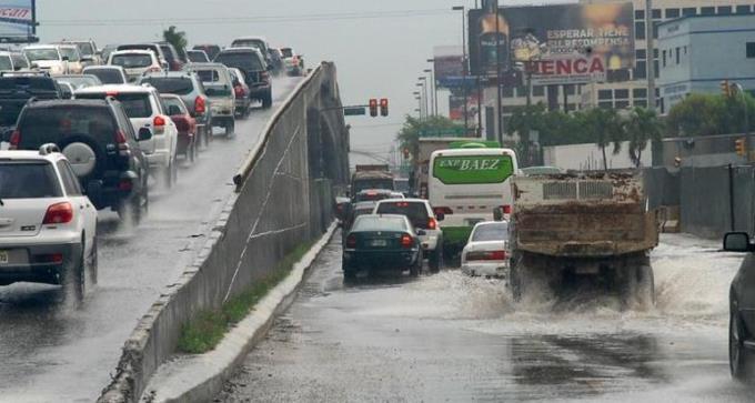 Vaguada provocará aguaceros locales en varias provincias