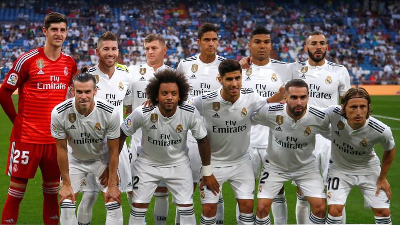 Galardonan al Real Madrid como el Club Europeo del año