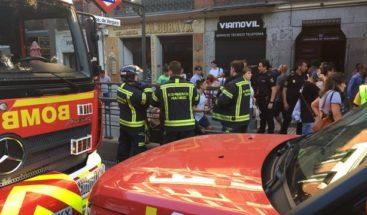 Explosión del portátil de una pasajera provoca caos en metro de Madrid