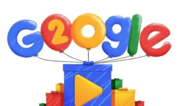 El doodle con el que Google celebra sus 20 años