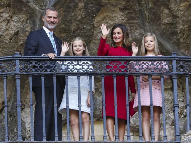 La Princesa Leonor, heredera de la Corona, visita Asturias con los Reyes