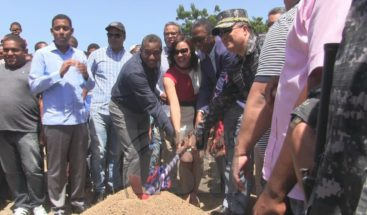Director PN encabeza inicio de construcción de dos cuarteles en Azua