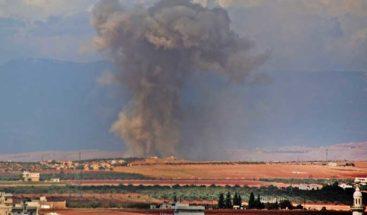 Turquía insta poner fin a los bombardeos en Idlib