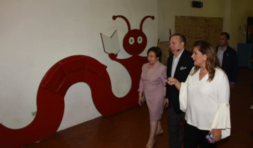 El ministro de Cultura visita las instalacionesMuseo Trampolín