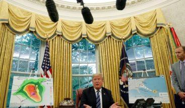 Trump viajará a las zonas afectadas por Florence la próxima semana