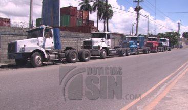 Fenatrado confirma paro del transporte de carga este martes