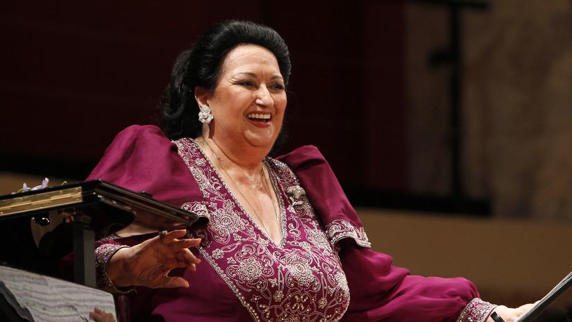 La soprano española Montserrat Caballé, hospitalizada en Barcelona