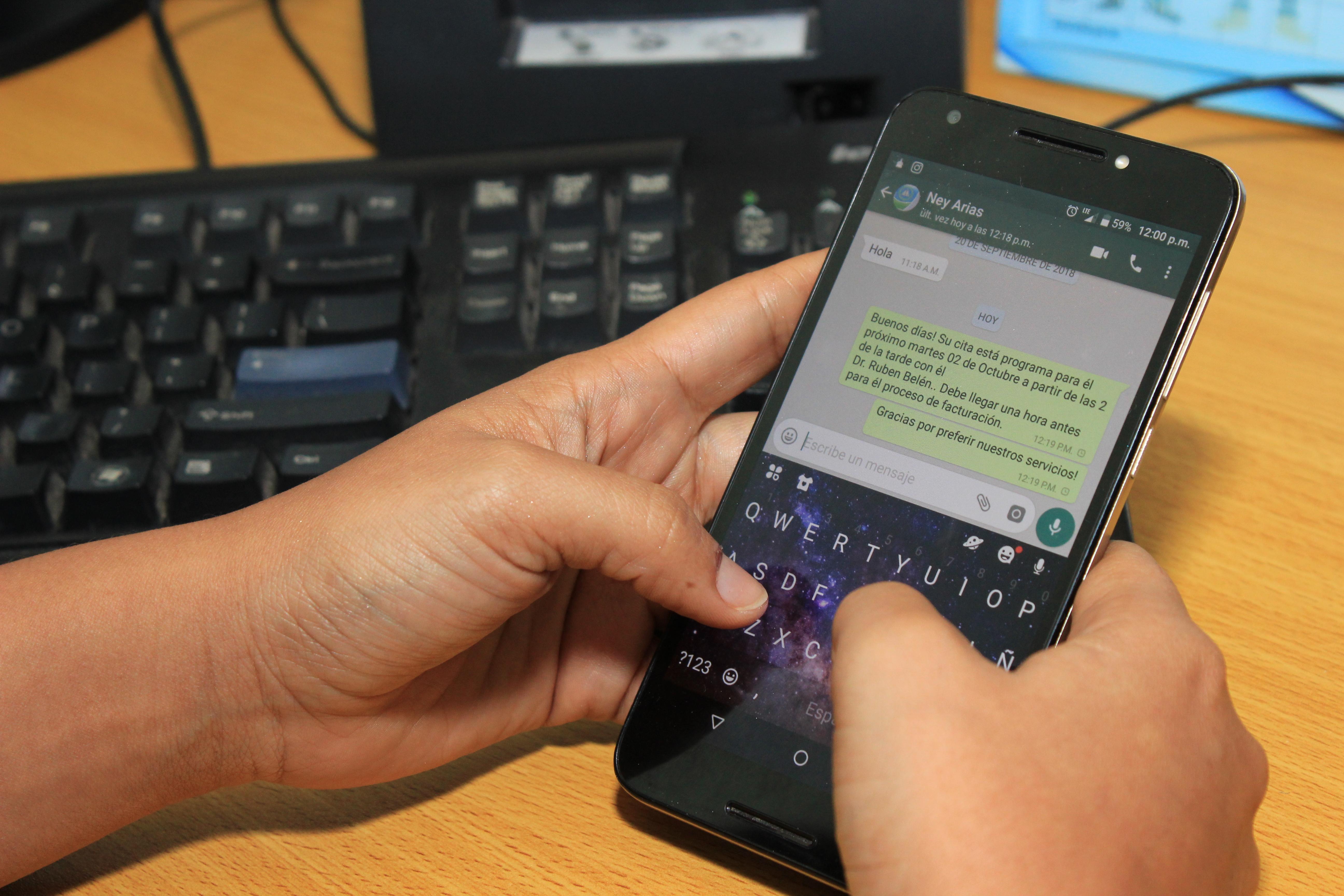 Hospital Ney Arias Lora implementa nuevo sistema de citas por Whatsapp