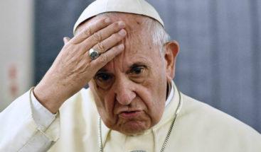 Papa dijo que en pasado se cubrían abusos a menores por modo de pensar