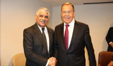 Canciller Vargas y homólogo ruso tratan sobre Consejo de Seguridad