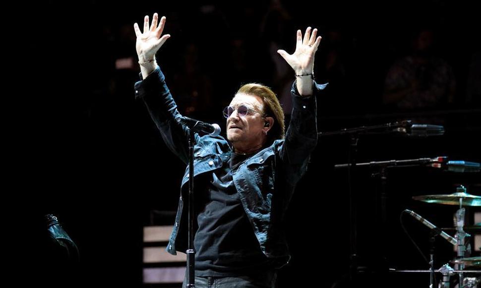 U2 vuelve a Madrid 13 años después para predicar su mensaje de unidad