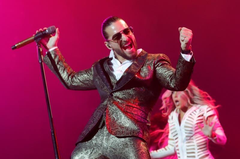 Maluma sale indemne de las críticas y enamora en su concierto en Madrid