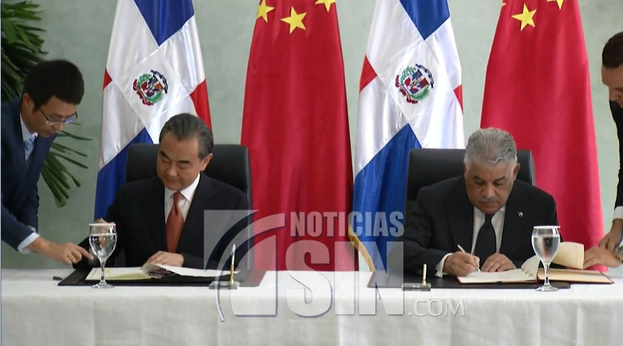 Inauguran embajada china en Santo Domingo