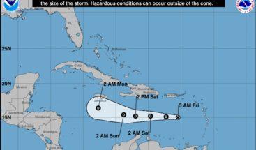 Isaac se debilita a depresión tropical; oleaje anormal en costa caribeña