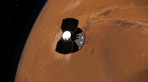 Estudio advierte de alta radiación astronautas en posible misión a Marte