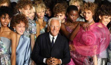 Giorgio Armani cierra el desfile de grandes marcas en la Moda de Milán