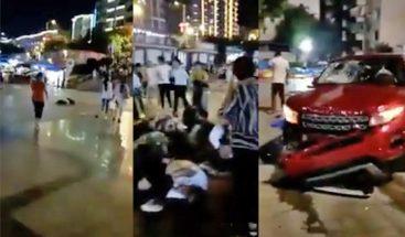 Nueve muertos y 43 heridos en un atropello intencionado en China