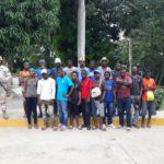 Cesfront detiene 1,235 indocumentados haitianos durante operativos