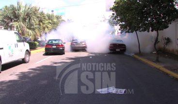 A bombazos PN impide protesta de choferes por ruta de prueba de la OMSA